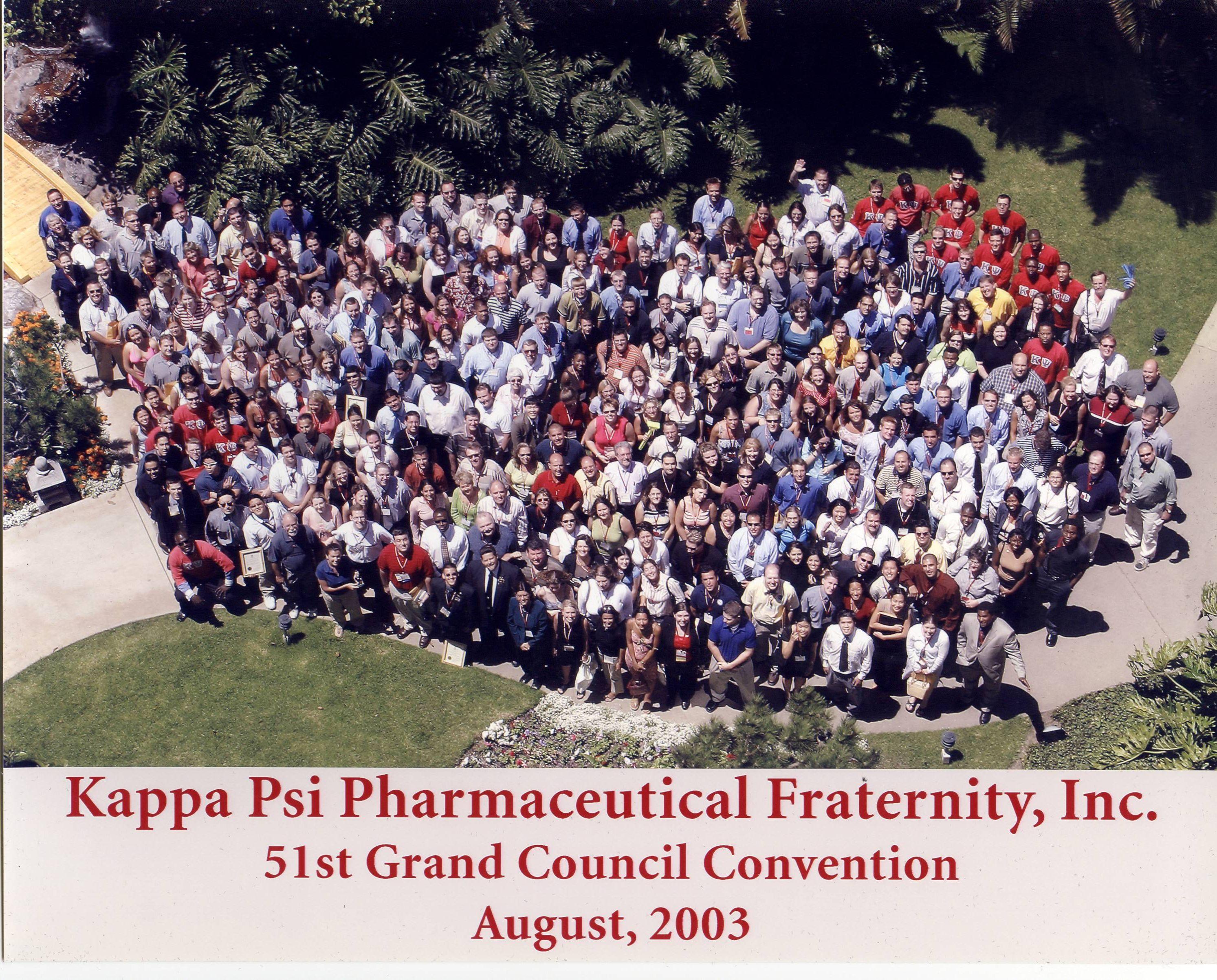 Kappa Psi Pharmaceutical Fraternity b6c2c80363844